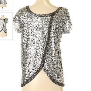 ❌🆕! Free People Sequin Blouse XS